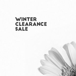 50% OFF ALL WINTER ITEMS