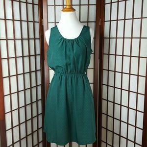 Blu Pepper Dresses & Skirts - Green Heart Blu Pepper Dress Size M