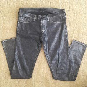 Flying Monkey Metallic Jeans