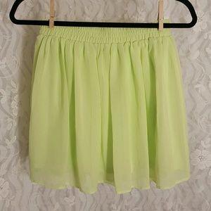Forever 21 Skirts - Neon Green Forever 21 Skirt