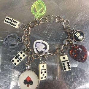 Jewelry - Vintage crackerjack/gumball machine charm bracelet
