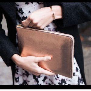 Ivanka Trump Handbags - Ivanka Trump Tablet & Cell Clutch & Charger SET