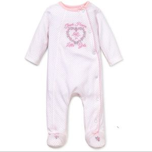 "Little Me Other - THANK HEAVEN FOR LITTLE GIRLS ""9 months"" Pajama"