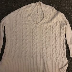 NWOT FREE PEOPLE OVERSIZED KNIT TOP