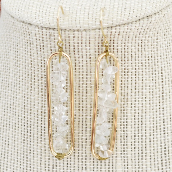 1ccbd49f5 Magnolia & Scout Jewelry | 1 Day Sale Gold Earrings With Stone ...
