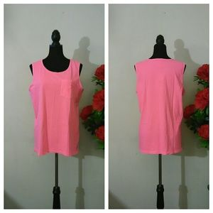 Brand New VS Pink Pocket Tank