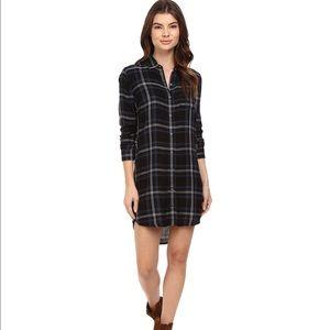 Obey Dresses & Skirts - Obey Plaid Shirt Dress