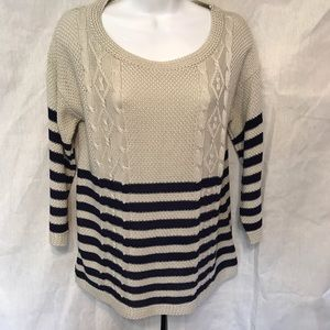 one A Sweaters - Knit striped sweater
