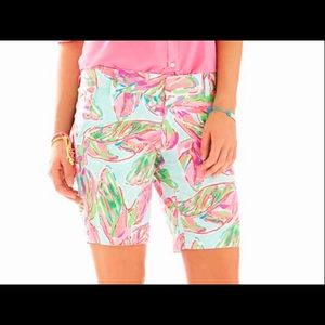 ⛱NWT Lilly Pulitzer Golf Shorts In the Vias SZ 00