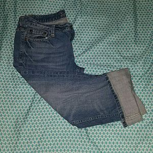 Earl Jeans Denim - EARL JEANS capris with rolled cuffs size 30