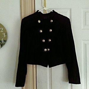 INC Military Style Blazer