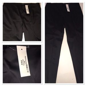 DREW Pants - NWT Drew black satin dress pants