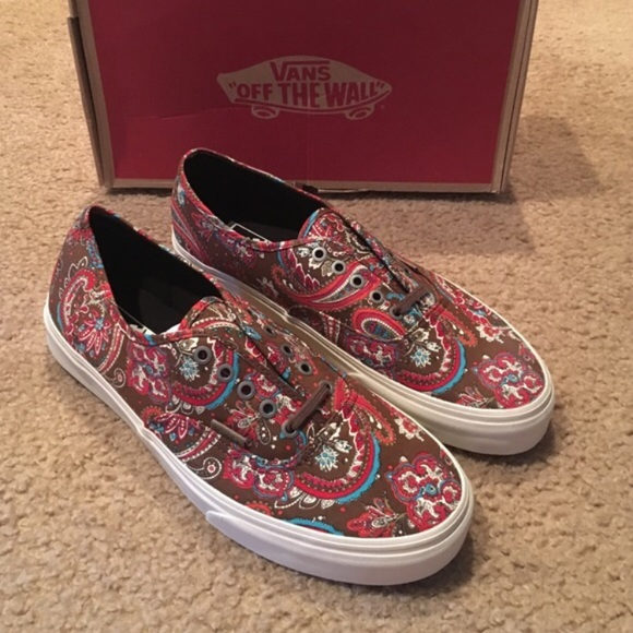 4268c37ade Vans Authentic CA Paisley Sneakers