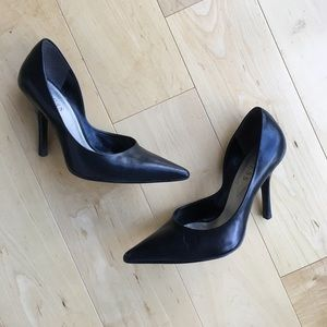 Guess Black Pointy Pumps