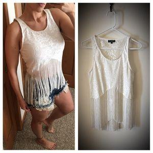 Bershka Tops - CLEARANCE Lace/fringe from Kiev, Ukraine boutique