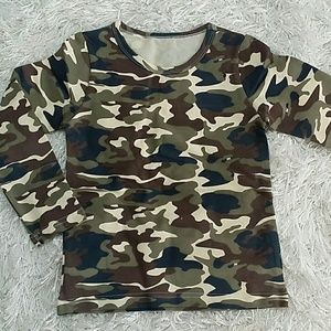 Other - 🎉SALE🎉Camouflage long sleeves tee. Kids.
