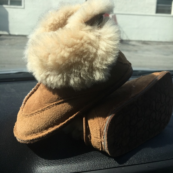 caed65900cf UGG BABY BOO Boot Suede Sheepskin Infant ~5206~