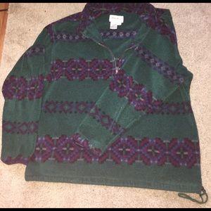 Vintage Eddie Bauer 1/4 Zip pullover