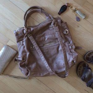 Urban Expressions Handbags - Gorgeous Certified vegan tan bag