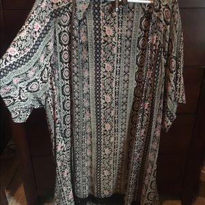 Full Tilt Tops - Full tilt kimono