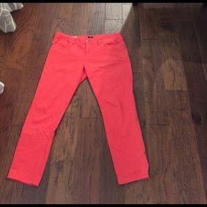 J.Crew Toothpick Colored Jean