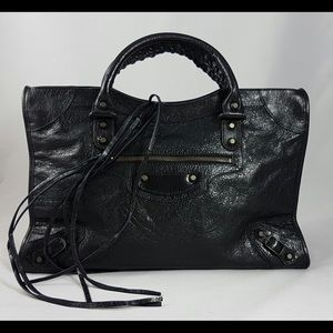 Balenciaga Handbags - Balenciaga Classic City Black