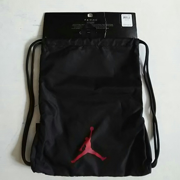 60% off Jordan Handbags - Michael Jordan Drawstring Bag from ...