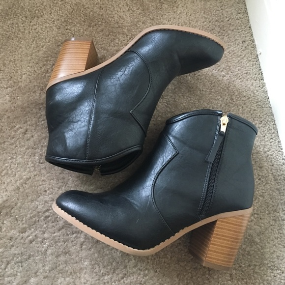 f776ba480ed3 M 58a3391b2de5124b1f0096bf. Other Shoes you may like. Maurices Brown Cheri  Lace Up Wedge Booties