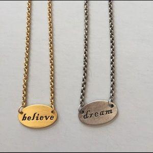Cynthia Garrett Jewelry - Cynthia Garrett Believe and Dream Necklaces