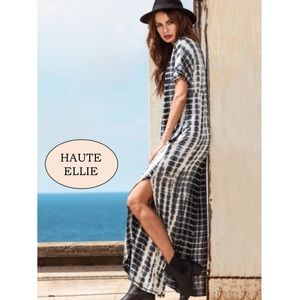 Haute Ellie Dresses & Skirts - 🆕 Traveler Slit Side Maxi Dress-Tye Dye