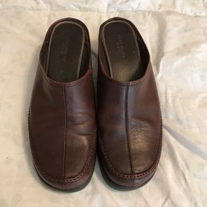 Leather Clogs.  Sometimes used.