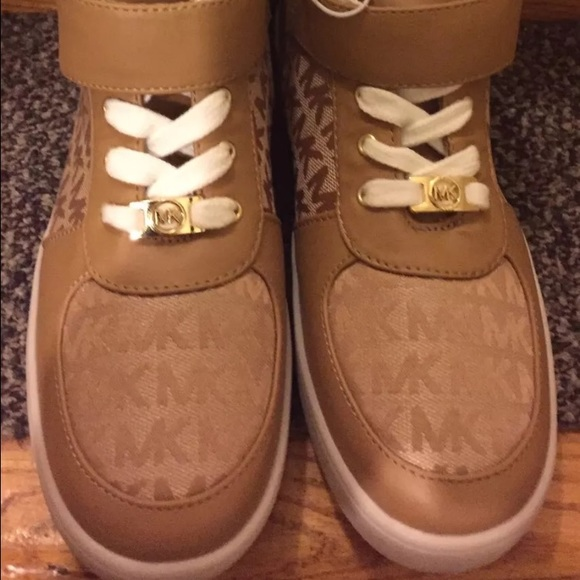 ffd94e8f62e6a Michael Kors reece 2 high top sneakers