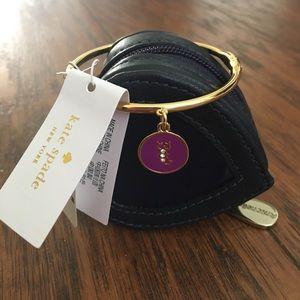 kate spade Jewelry - KATE SPADE Zodiac Sign Scorpio Charm Bangle