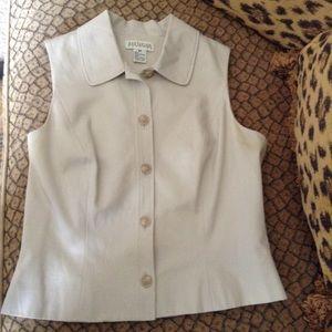 Ann Taylor 5 button vest