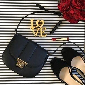 Calvin Klein Handbags - New Calvin Klein Black Leather Crossbody Purse