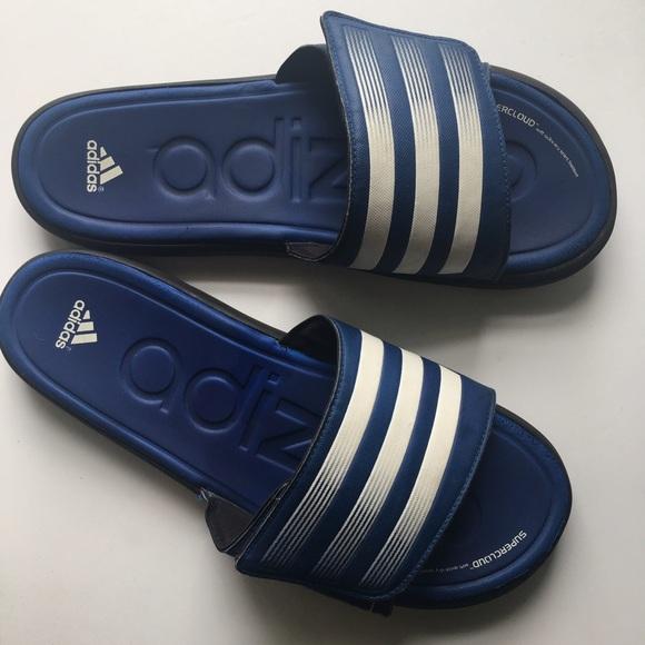1184ad1c3e969e Adidas Other - Adidas    Adizero Slides - blue