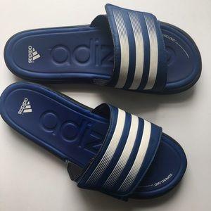 Adidas Other - Adidas // Adizero Slides - blue, black