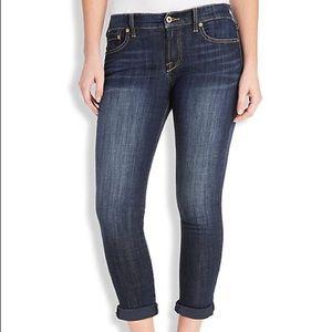 Lucky Brand Denim - Free!✌️Lucky Brand Easy Rider Crop Jeans