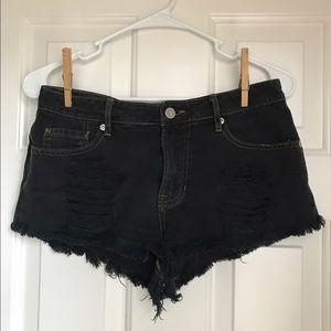 Gypsy Warrior Distressed Shorts