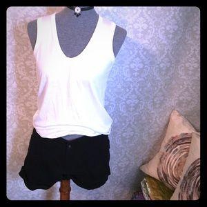 Cotton On Pants - Basic black shorts