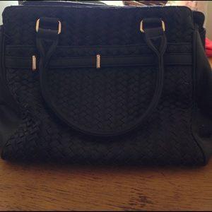 Deux Lux black purse