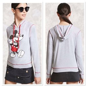 Disney Tops - Mickey Mouse Graphic Hoodie