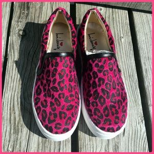 Luichiny Shoes - Luichiny Hot Pink Ocelot Loafer! NIB!