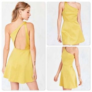 Urban Outfitters Dresses & Skirts - Urban outfitters sunbeam one shoulder dress 2
