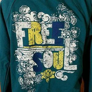 lei Tops - l.e.i. Free Soul Zip-Up Hoodie