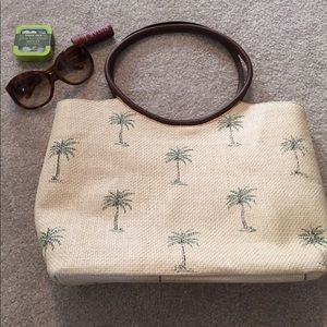 Capelli of New York Handbags - Vintage straw tote