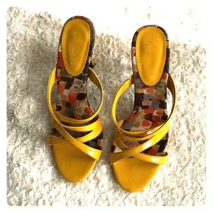 Ann Marino Shoes - Yellow sandals 🔥