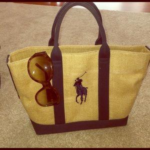 Ralph Lauren Handbags - Ralph Lauren tote