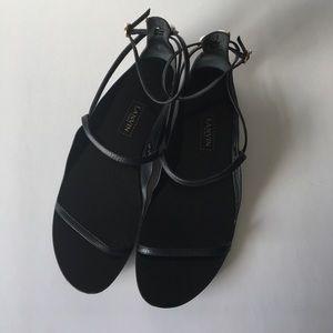 Black Lanvin Sandals in 39.5 