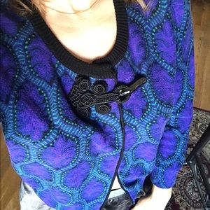 Tracy Reese Sweaters - Tracy Reese cardigan sweater purple anthropology M